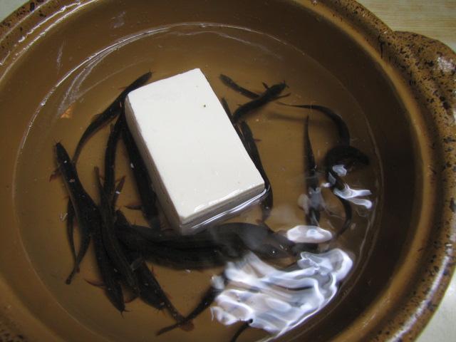 ドジョウの地獄鍋